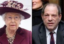 تصویر از بازپسگیری جایزه هاروی واینستین به دستور ملکه انگلیس