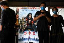 تصویر از گیشه چین: «مولان» باز هم از «هشت صد» شکست خورد / «تنت» نولان جایگاه دوم را از آن خود کرد