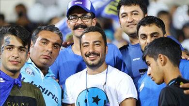 تصویر از ناراحتی نوید محمدزاده از وضعیت باشگاه استقلال + عکس