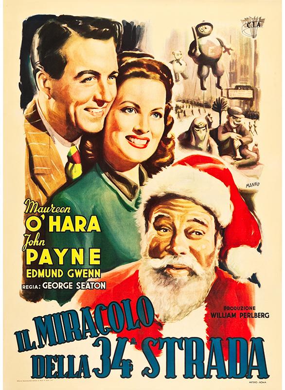 پوستر فیلم «معجزه در خیابان سیوچهارم»