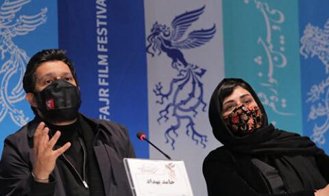 نشست خبری فیلم سینمایی «گیجگاه» در جشنواره فیلم فجر