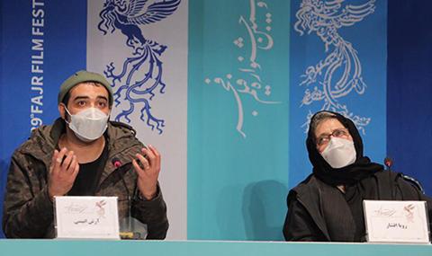 نشست خبری و پرسش و پاسخ فیلم سینمایی «مامان» در جشنواره فیلم فجر