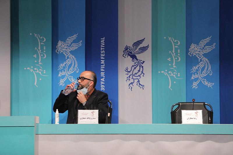 نشست خبری و پرسش و پاسخ فیلم سینمایی «روشن» در جشنواره فجر
