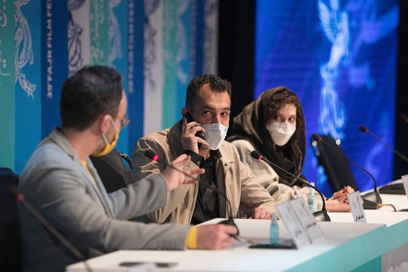 نشست خبری و پرسش و پاسخ فیلم «ستاره بازی» در جشنواره فیلم فجر