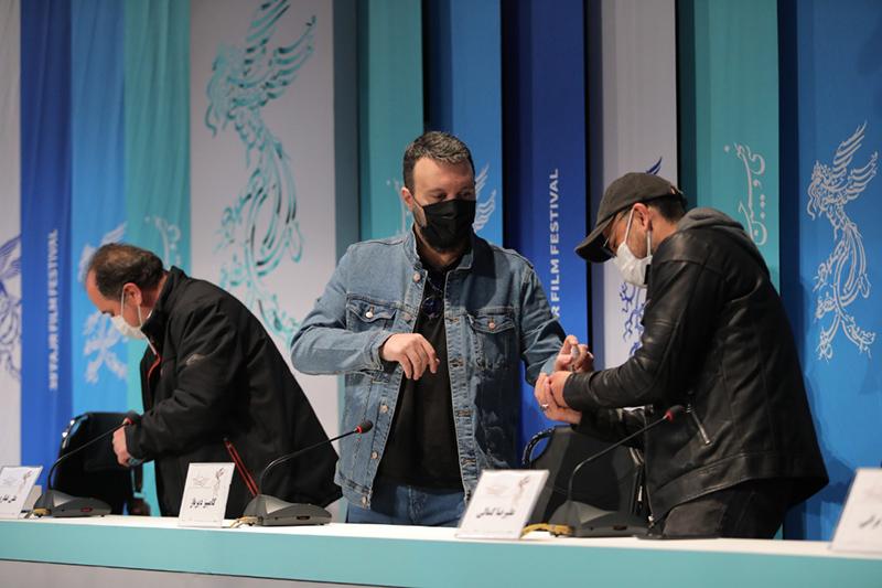 نشست خبری و پرسش و پاسخ فیلم سینمایی «تکتیرانداز» در جشنواره فیلم فجر