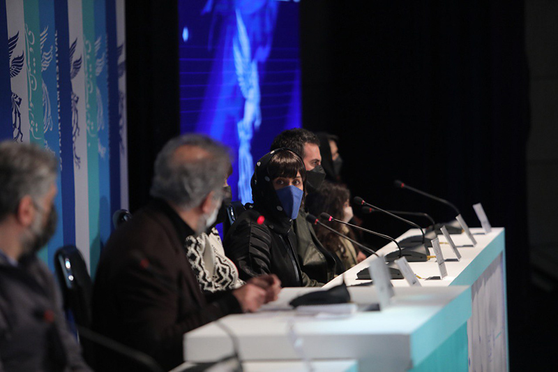 نشست خبری و پرسش و پاسخ فیلم «تیتی» در جشنواره فیلم فجر