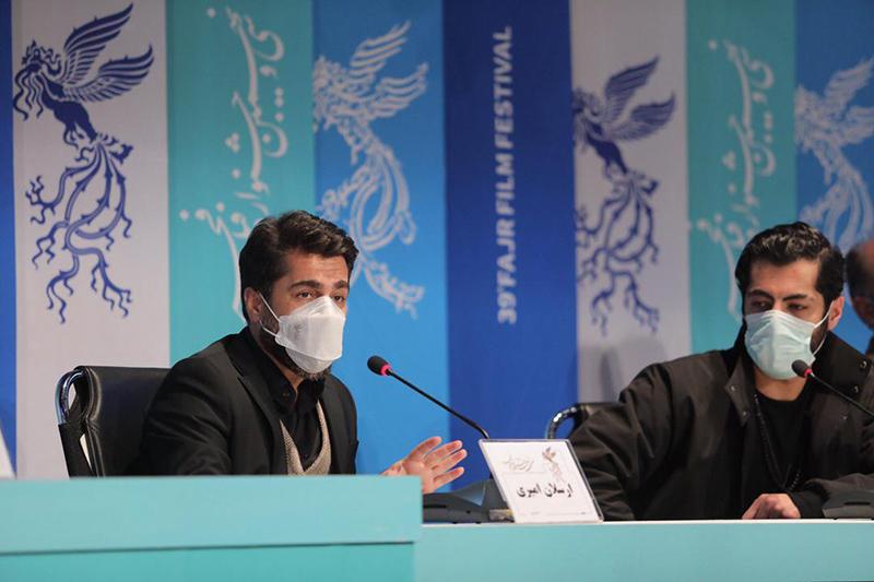 نشست خبری و پرسش و پاسخ فیلم سینمایی «زالاوا» در جشنواره فیلم فجر
