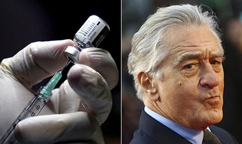 مخالفت رابرت دنیرو با واکسن زدن