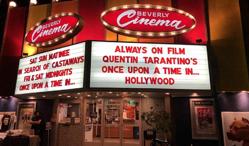 بازگشایی سینمای کوئنتین تارانتینو